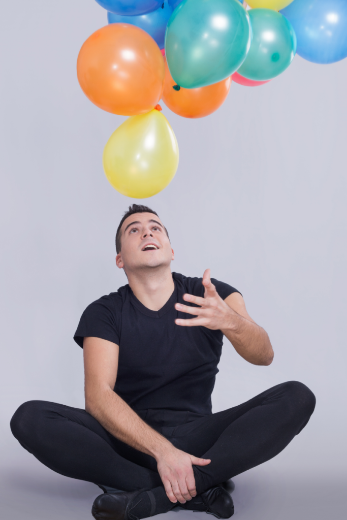 keeping balloons in the air